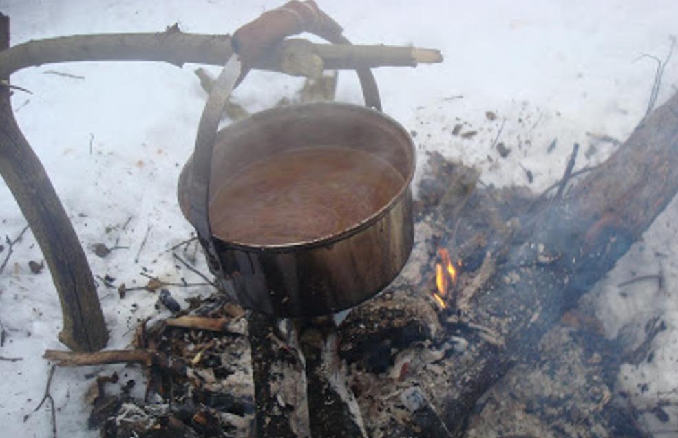 gotowanie na ognisku